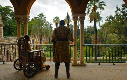 Prince Doran Martell overlooking the Water Gardens