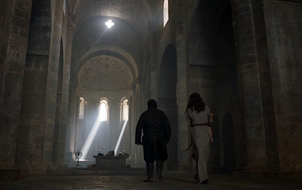 Sam and Gilly arrive in the Citadel